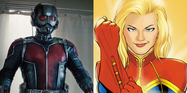 Ant-Man and Captain Marvel