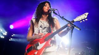 KT Tunstall performs on stage at The Roundhouse on March 25, 2019 in London, England