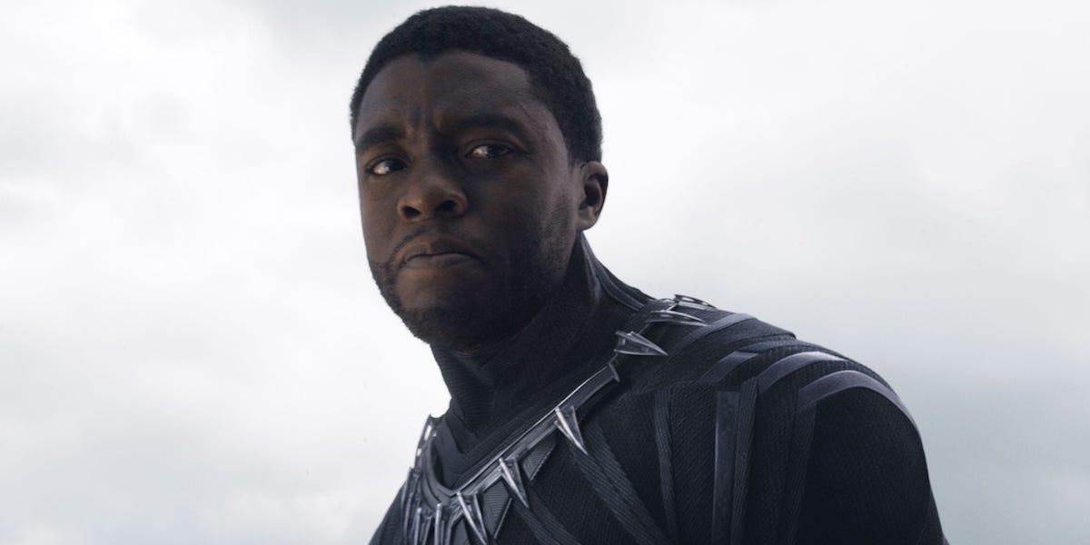 Chadwick Boseman in Captain America: Civl War
