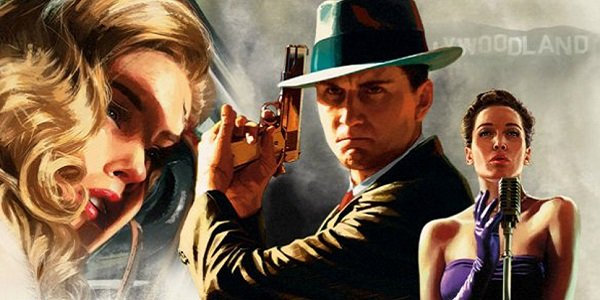 Various characters from LA Noire