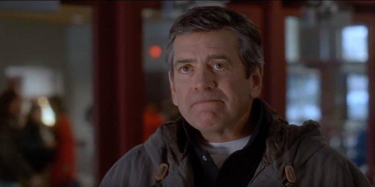 Hawks coach Jack Reilly after talking to Coach Bombay
