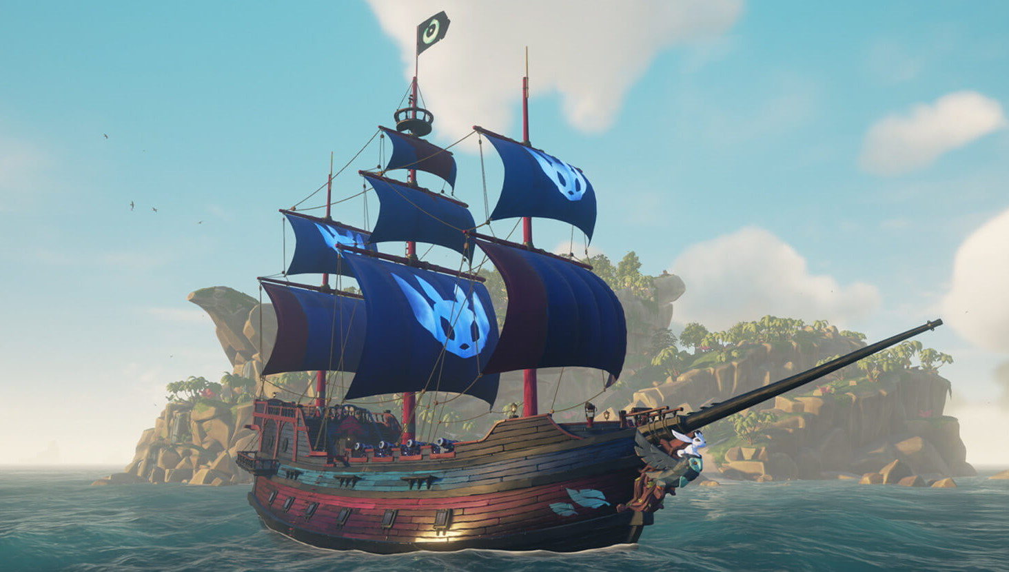 Get the Sea of Thieves 'Ancestral Ship Set' for free this weekend