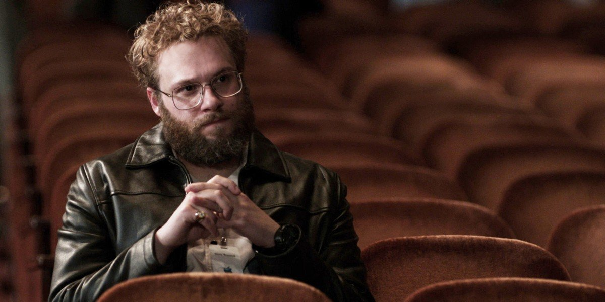 Seth Rogen as Steve Wozniak in Steve Jobs