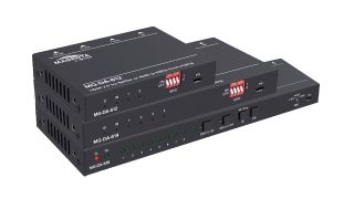 tvONE has begun shipping a new compact HDMI 2.0 splitter and distribution amplifiers series, the Magenta Research MG-DA-61x.