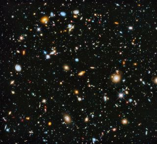 Hubble Deep Field View