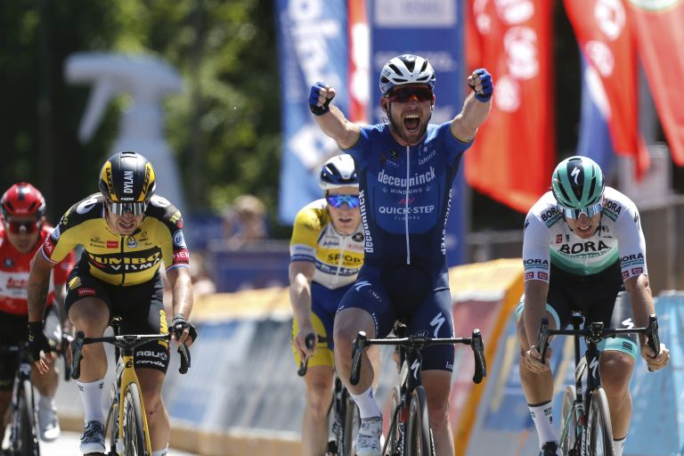 Mark Cavendish wins final stage of the Belgium Tour 2021
