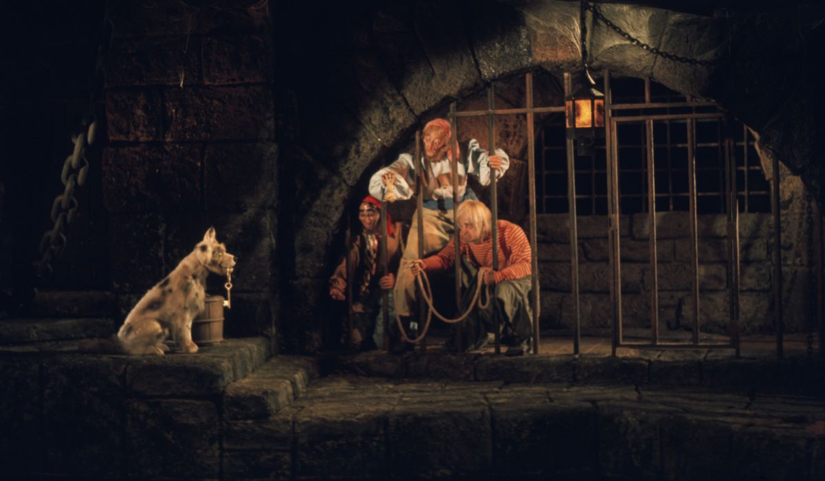 Pirates and the dog
