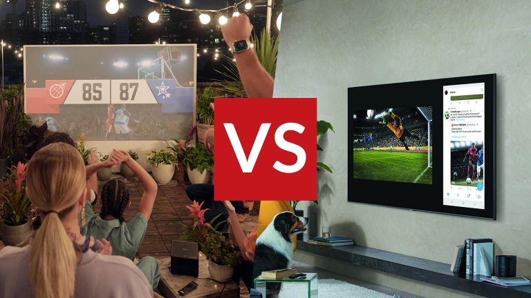 TV vs projector