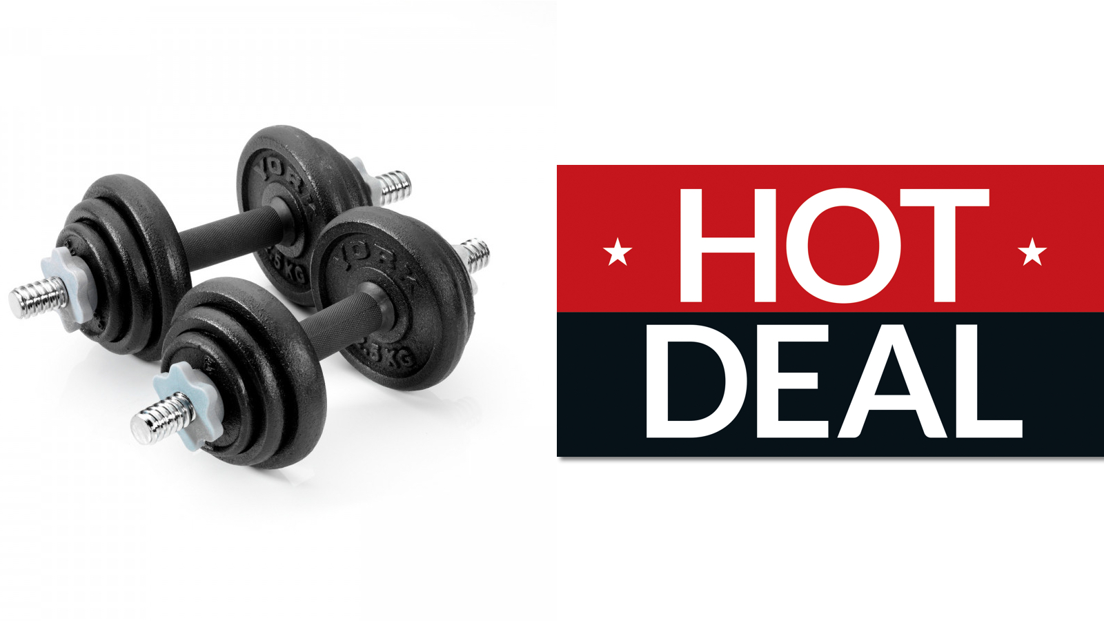últimos lanzamientos color rápido comprar popular Dumbbell weight set deal discovered! Available to buy NOW, snap up ...