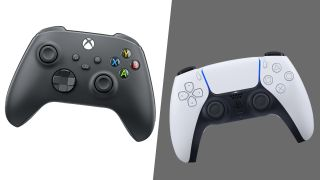 PS5 DualSense vs. Xbox Series X Controller