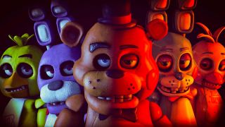 The faces of Freddy and co leer into the camera