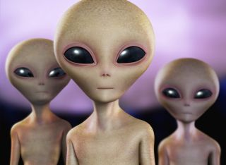 Intelligent Aliens: Artist's Illustration
