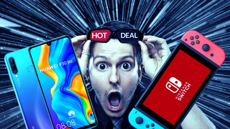 Black Friday Nintendo Switch phone deals Huawei P30 Lite New Edition