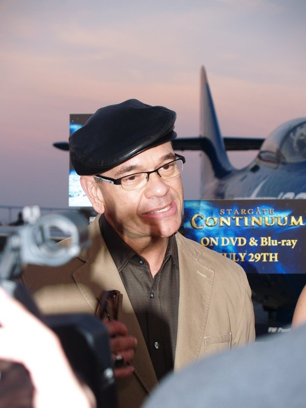 Comic Con: Aircraft Carrier Premiere Of Stargate Continuum #2863