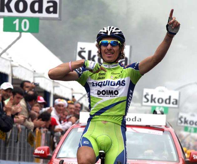Franco Pellizotti wins