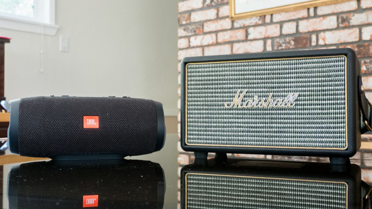 This Marshall Bluetooth speaker is 50% off on Amazon
