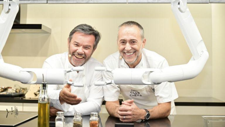 samsung family hub: club des chefs