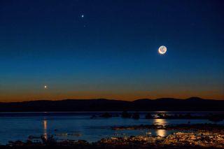 Sunrise at California's Mono Lake