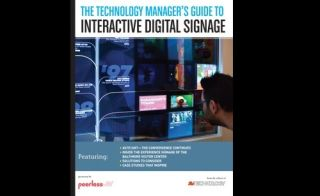 The Technology Manager's Guide to Interactive Digital Signage