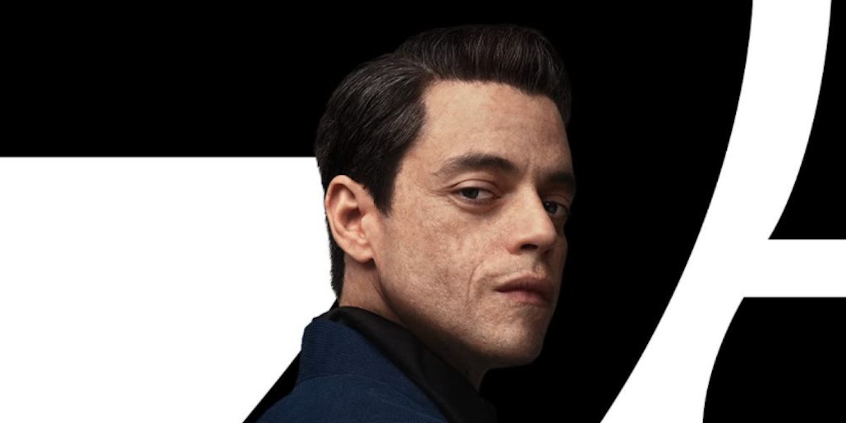 Rami Malek in No Time to Die's poster