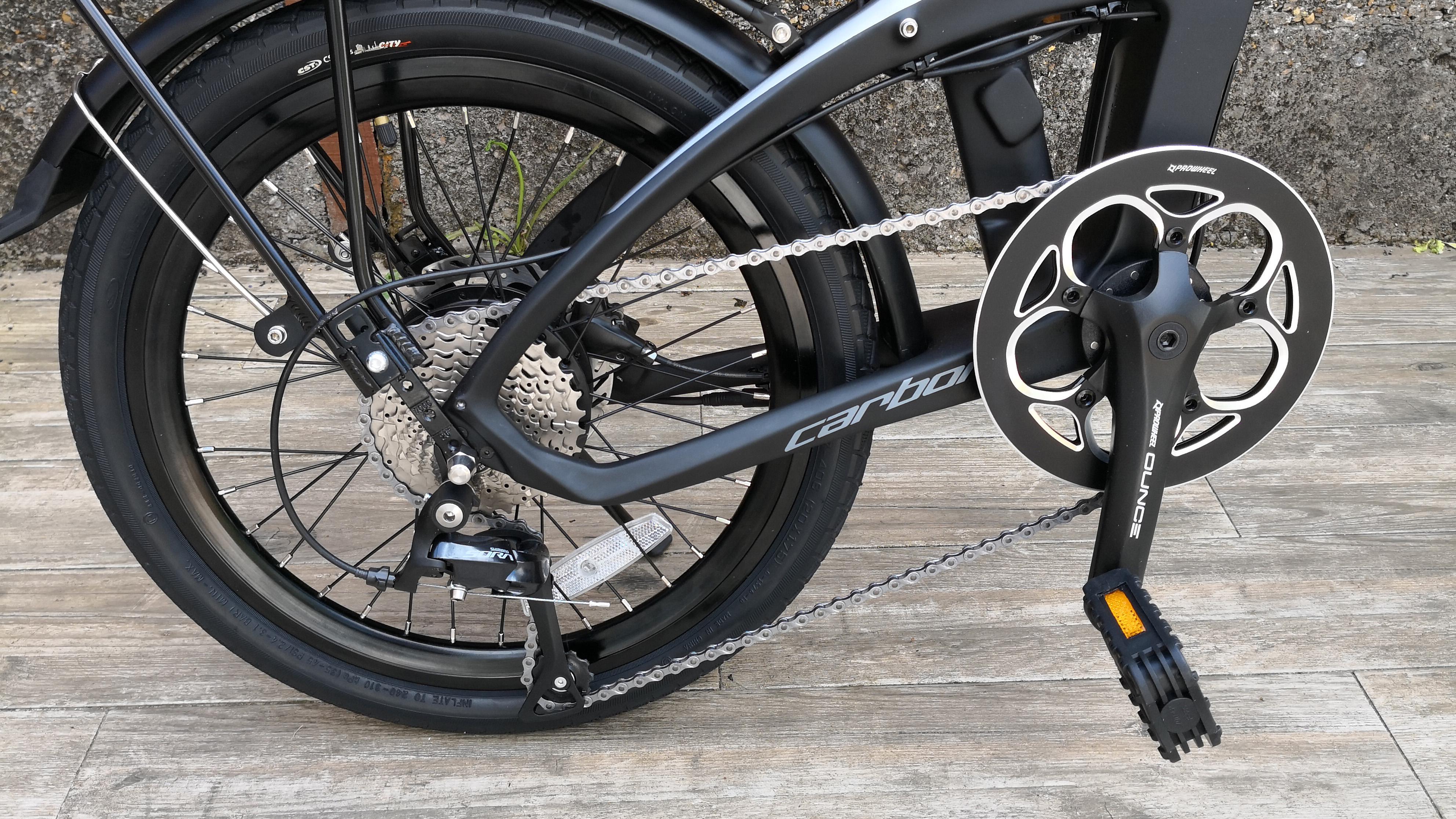 Furo Systems Furo X folding electric bike