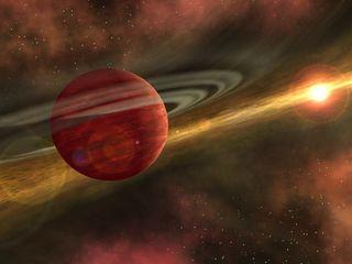 Exoplanet Orbits Coku Tau 4