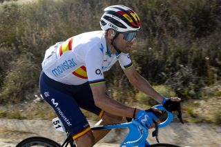 Spanish road race champion Alejandro Valverde (Movistar) got 15 days of racing under his belt during the 2020 season ahead of the coronavirus shutdown