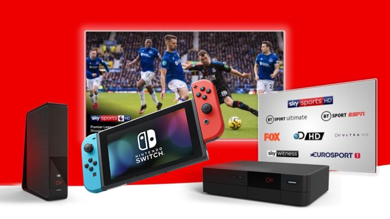 Virgin Media Nintendo Switch TV
