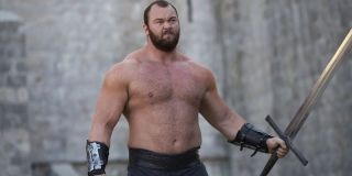 The Mountain In Game Of Thrones before fight