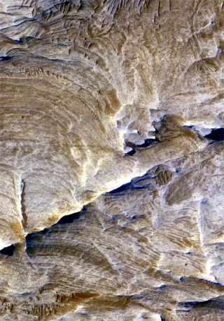Underground Plumbing System Discovered on Mars