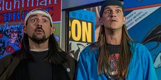Jay and Silent Bob Reboot Silent Bob and Jay stand stunned at Chronic Con