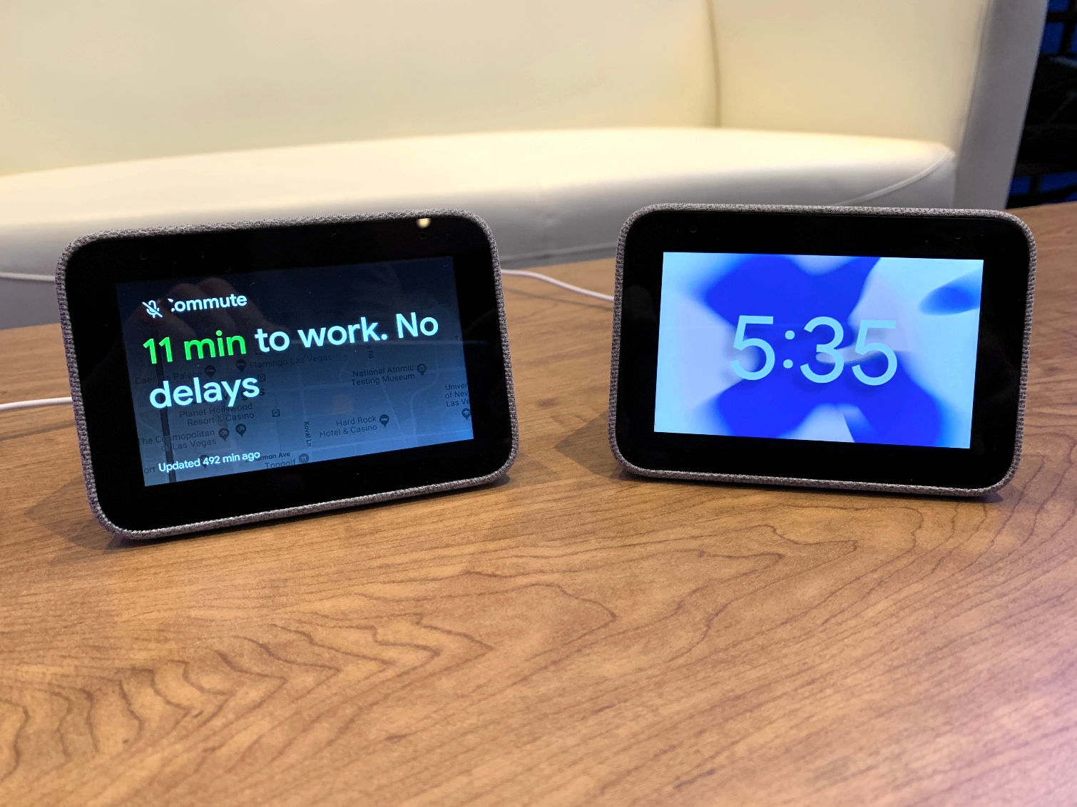 Lenovo Smart Clock with Google Assistant Takes on Echo Spot