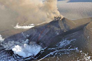 Veniaminof volcano