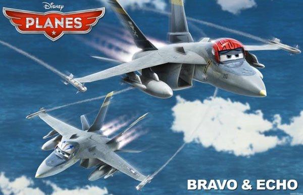 Planes Bravo Echo