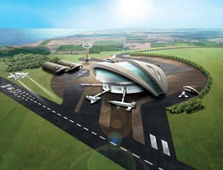 U.K. Spaceport Concept Art