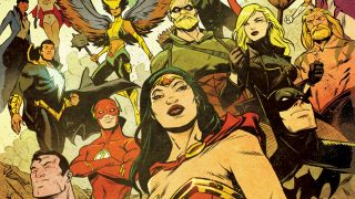 Plus Wonder Woman returns to the Justice League while OMAC returns to the DCU