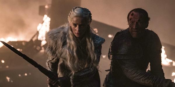 Game of Thrones Daenerys Targaryen Emilia Clarke Jorah Mormont Iain Glen HBO