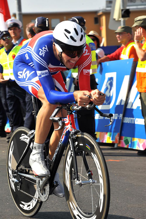 Alex Dowsett, Under-23 Men TT, World Championships 2009
