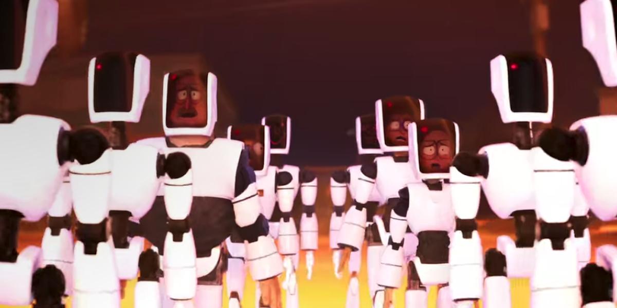 Mitchells as robots The Mitchells vs. the Machines