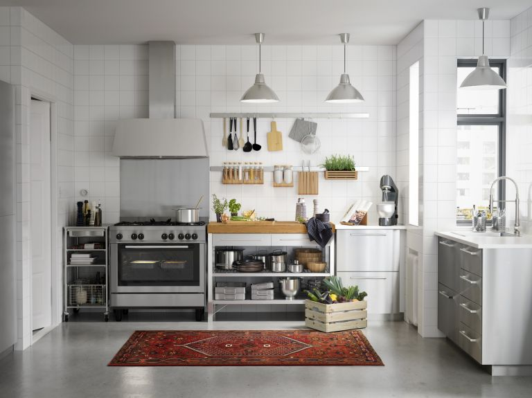 Bank Holiday deals: A well organised space with plenty of storage that makes a small kitchen feel bigger