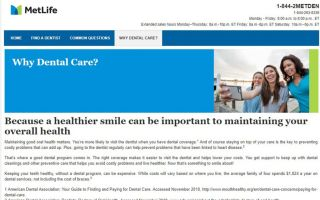 Metlife Dental Insurance Review - Plans, Premiums and ...