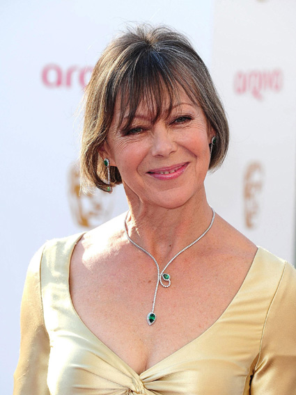 Jenny Agutter receives OBE for charity work
