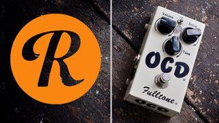 Fulltone OCD and Reverb.com logo