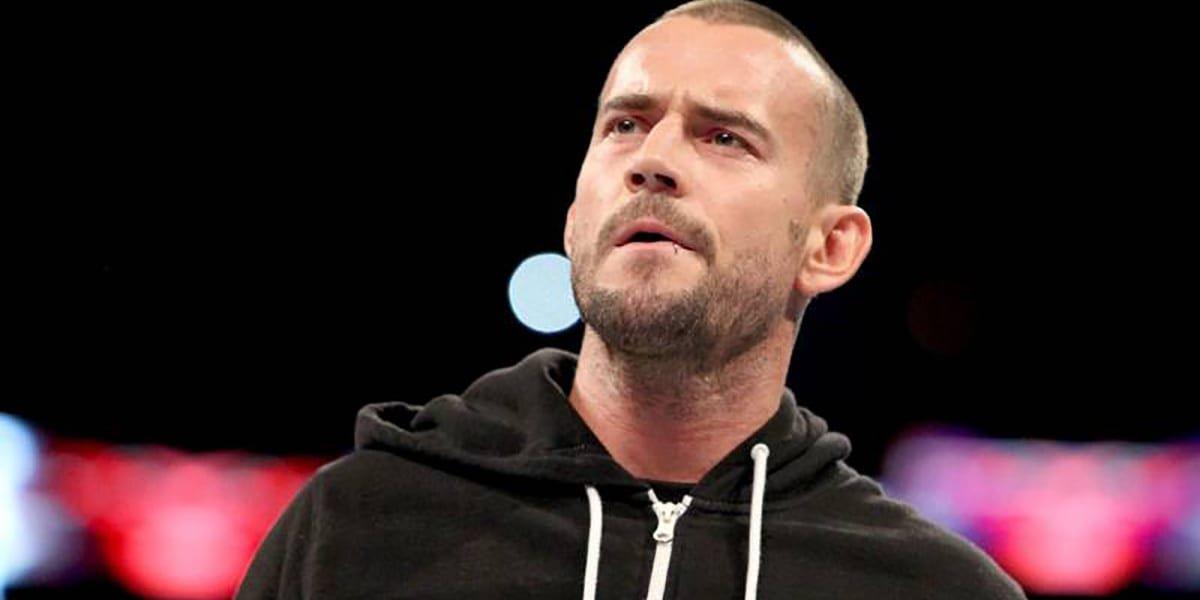CM Punk on Monday Night Raw