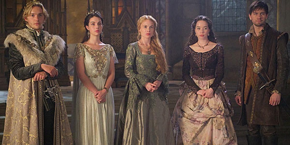 Some of the main cast of Reign.