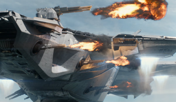 Captain America The Winter Soldier Helicarrier