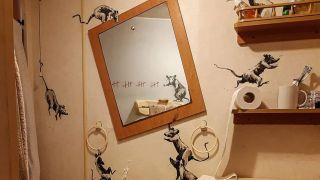 Banksy's bathroom