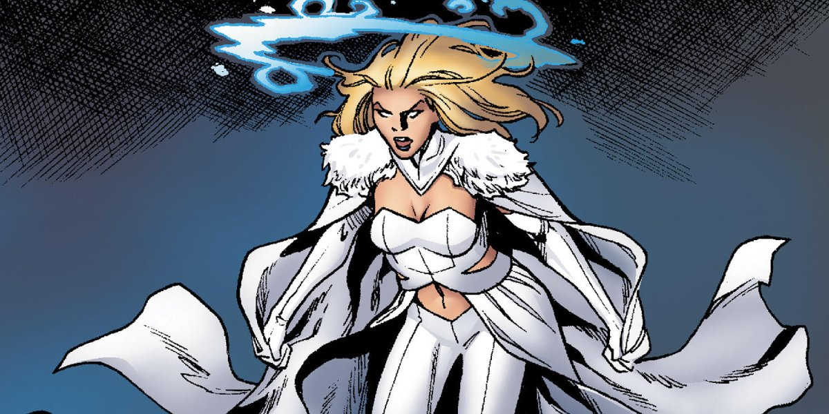 Ice cold X-Men adversary Emma Frost