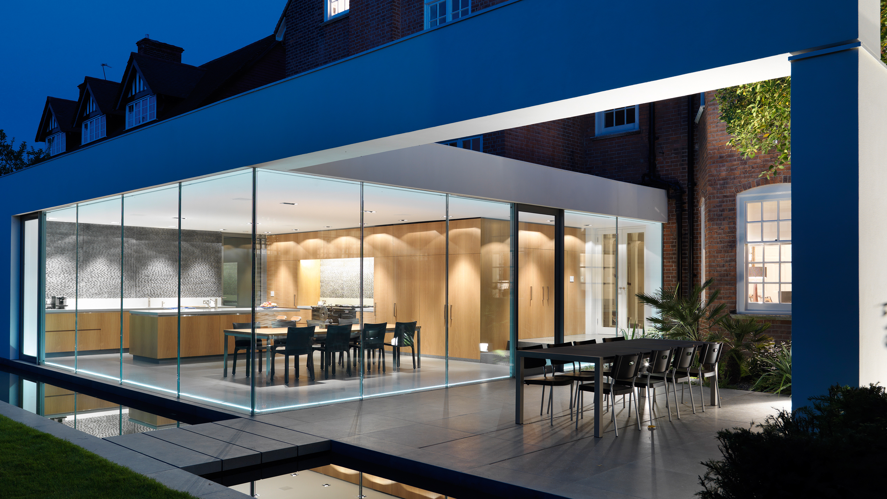 How To Get The Perfect Glass Box Extension Real Homes - How high is my house above sea level uk