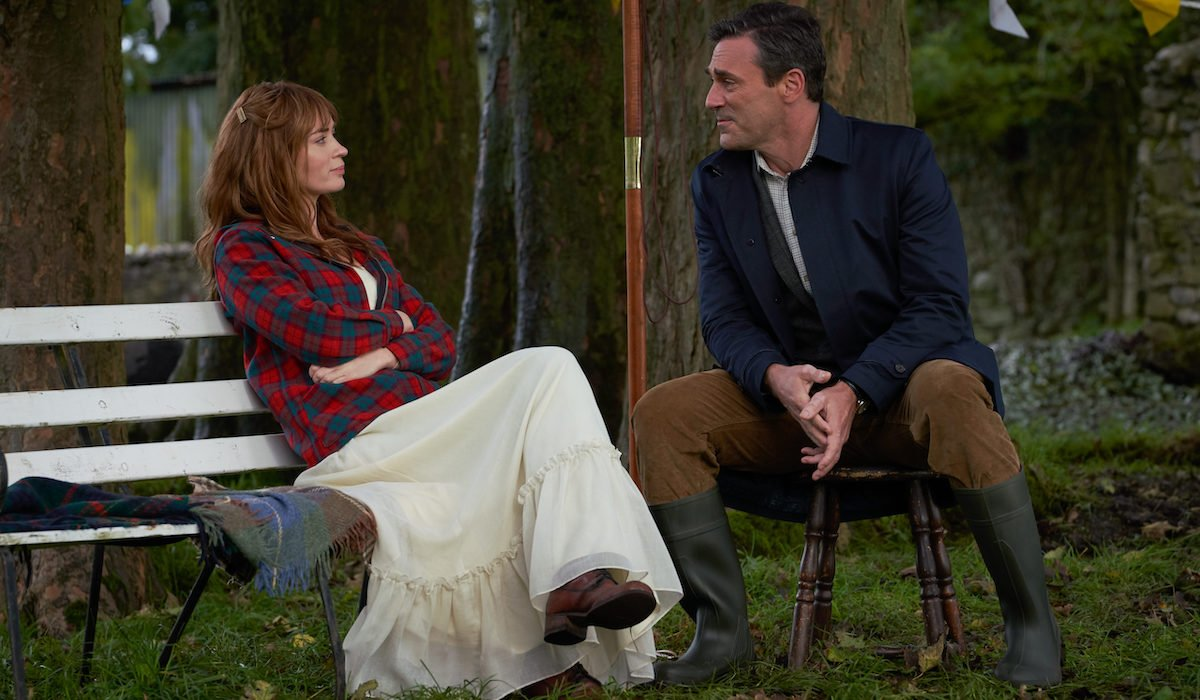 Emily Blunt and Jon Hamm in Wild Mountain Thyme